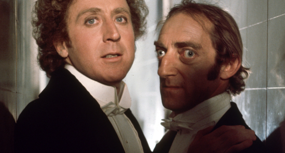 Gene Wilder and Marty Feldman in The Adventure of Sherlock Holmes' Smarter Brother